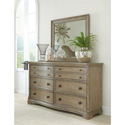 Sienna 6 Drawer Dresser and Mirror Set