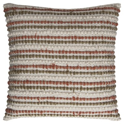 Edmund Throw Pillow Color: Ivory