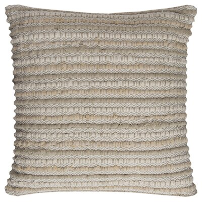 Edmund Throw Pillow Color: Natural
