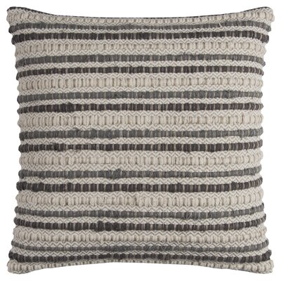 Edmund Throw Pillow Color: Gray