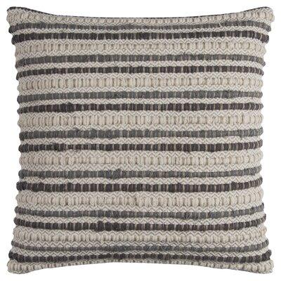 Edmund Throw Pillow Color: Gray