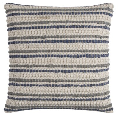 Edmund Throw Pillow Color: Blue
