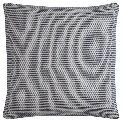 Edouard Cotton Throw Pillow Color: Indigo