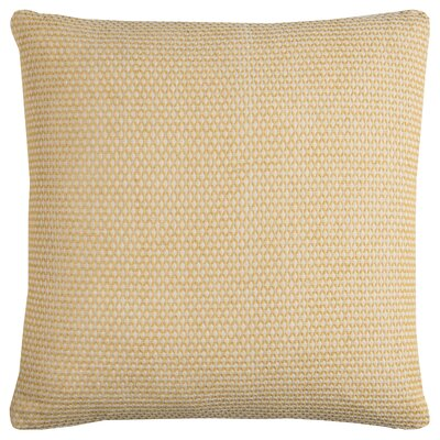 Edouard Cotton Throw Pillow Color: Yellow