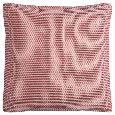Edouard Cotton Throw Pillow Color: Red
