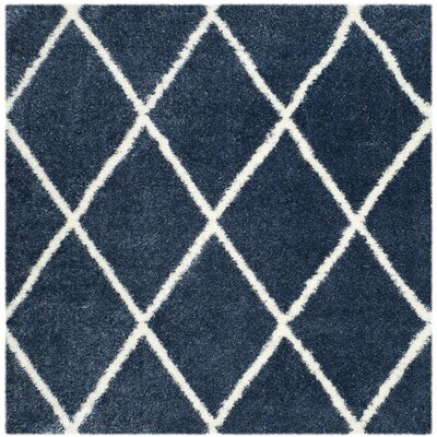 Macungie Blue Indoor Area Rug Rug Size: Square 6'7