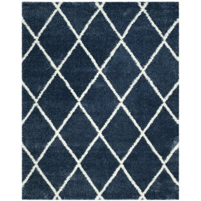 Hertha Blue Indoor Area Rug Rug Size: 8 x 10