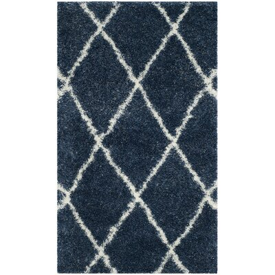 Macungie Blue Indoor Area Rug Rug Size: 4 x 6