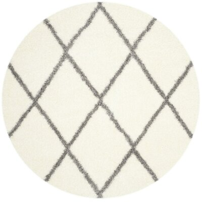 Macungie Gray/Beige Area Rug Rug Size: Rectangle 4 x 6