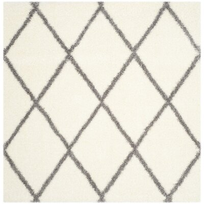 Macungie Gray/Beige Area Rug Rug Size: Square 67
