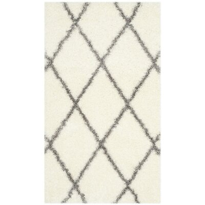 Macungie Gray/Beige Area Rug Rug Size: 3 x 5