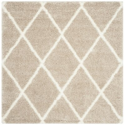 Hertha Beige Indoor Area Rug Rug Size: Square 67