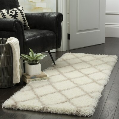 Hertha Beige Indoor Area Rug Rug Size: Runner 23 x 7