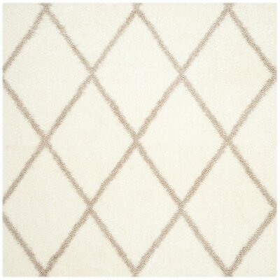 Macungie Beige Indoor Area Rug Rug Size: Square 67
