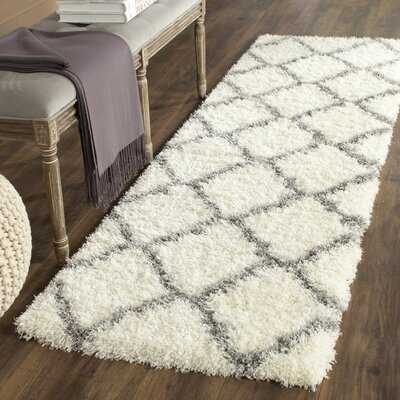Macungie Gray Indoor Area Rug Rug Size: Runner 23 x 9