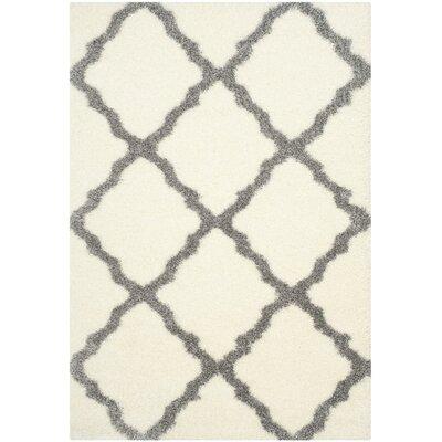 Macungie Gray Indoor Area Rug Rug Size: 53 x 76