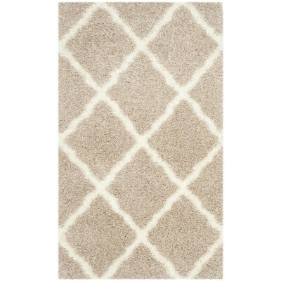 Macungie Beige Area Rug Rug Size: 3 x 5