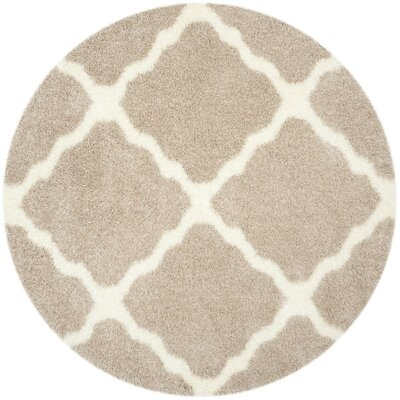 Macungie Beige Area Rug Rug Size: Rectangle 53 x 76