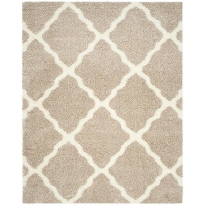 Macungie Beige Area Rug Rug Size: 8 x 10