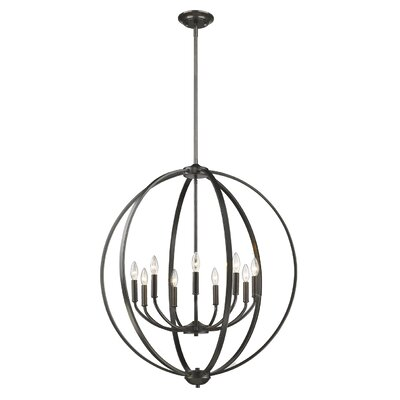 Tensed 9-Light Foyer Pendant Finish: Etruscan Bronze