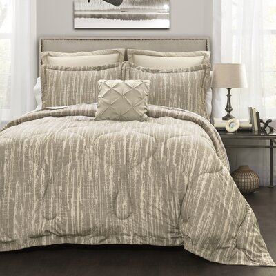 Athan 6 Piece Comforter Set Size: Full/Queen