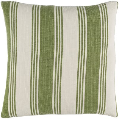 Elencourt 100% Cotton Throw Pillow Cover Size: 20 H x 20 W x 1 D, Color: GreenNeutral