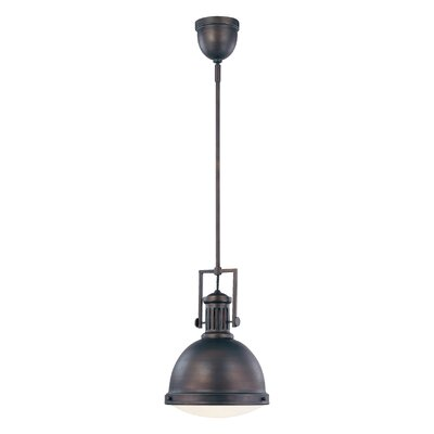 Hamilton 1-Light Mini Pendant Finish: English Bronze