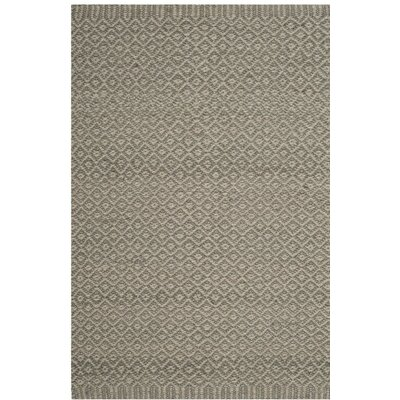 Grace Hand Woven Gray Area Rug Rug Size: 9 x 12