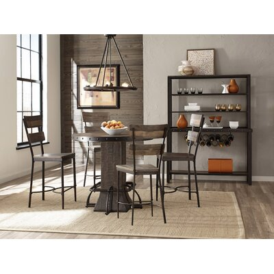 Christena 5 Piece Round Counter Height Dining Set