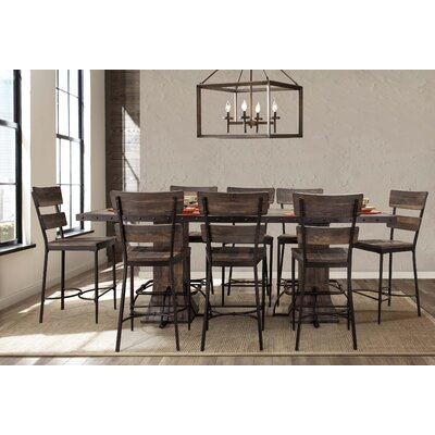Cathie 9 Piece Counter Height Dining Set