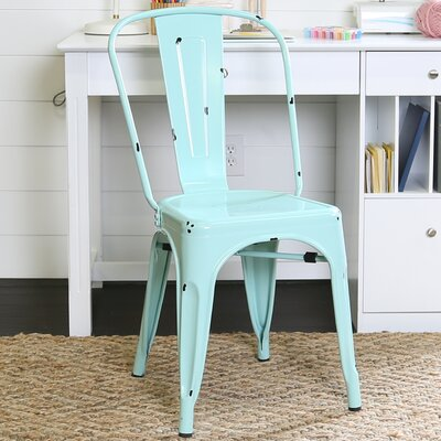 Airelle Side Chair Finish: Mint