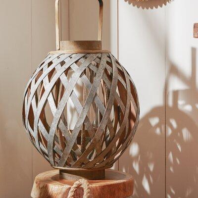 Swansea Globe Lantern Size: 12.8