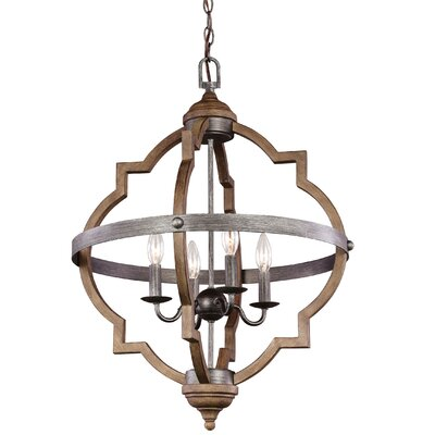 Donna 4-Light Foyer Pendant