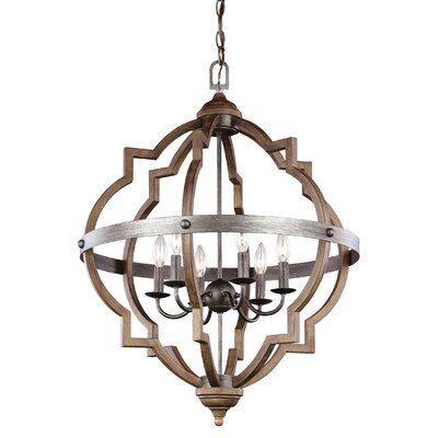 Donna 6-Light Foyer Pendant