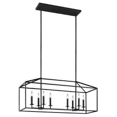 Odie 8-Light Kitchen Island Pendant