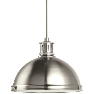 Orchard Hill 2-Light Inverted Pendant Finish: Brushed Nickel