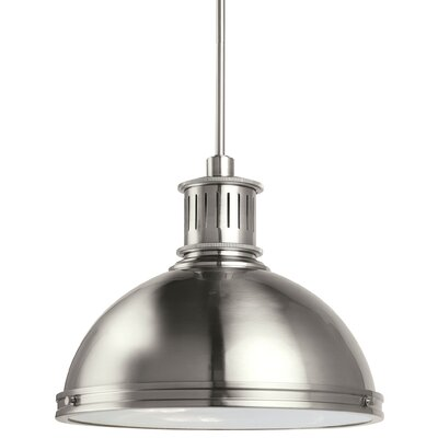 Orchard Hill 3-Light Inverted Pendant Finish: Brushed Nickel