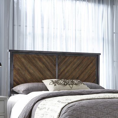 Yardley Metal Panel Headboard Size: King