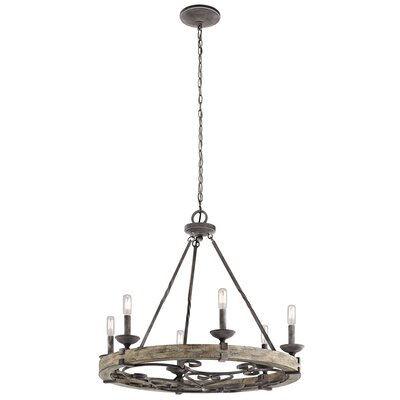Yasmin 6-Light Candle-Style Chandelier