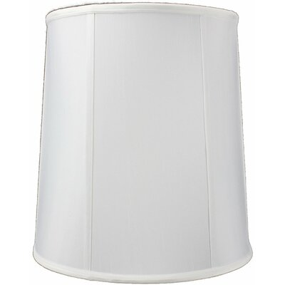 14 Premium Linen Drum Lamp Shade Color: White Linen