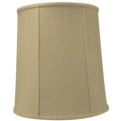 14 Premium Linen Drum Lamp Shade Color: Sand Linen