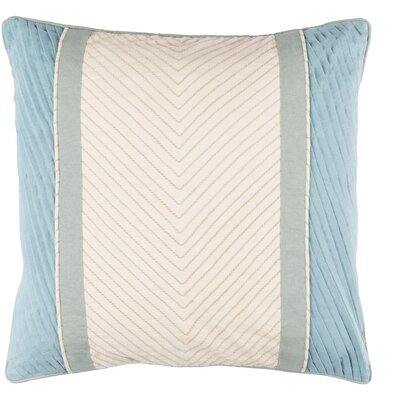 Electa Throw Pillow Size: 20 H x 20 W x 4 D, Color: SageGray