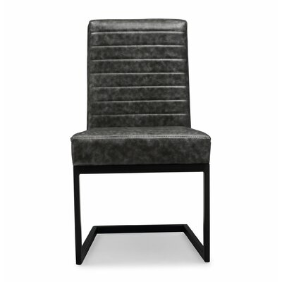 Imane Side Chair (Set of 2) Upholstery Color: Gray