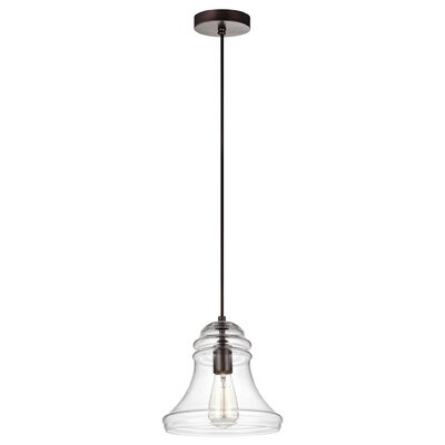 Zada 1-Light Mini Pendant Finish: Oil Rubbed Bronze