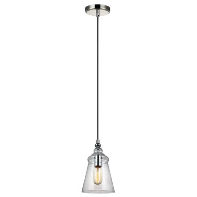 Sharwari 1-Light Mini Pendant Finish: Chrome