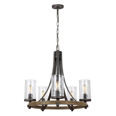 Zaria 5-Light Candle-Style Chandelier