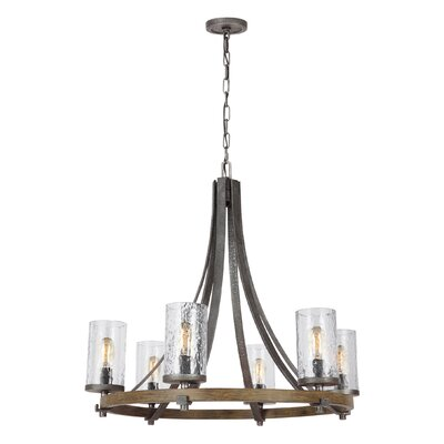 Zaria 6-Light Candle-Style Chandelier