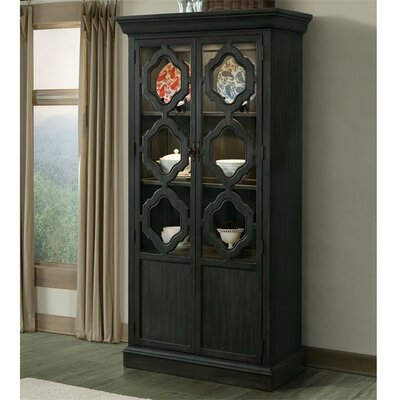 Kenwood Standard China Cabinet Finish: Ebonized Acacia