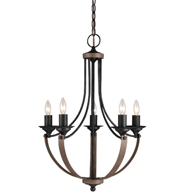 Kenna 5-Light Candle-Style Chandelier