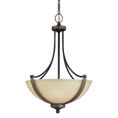 Kenna 3-Light Bowl Pendant